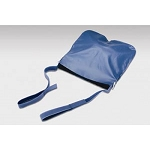 Urinary Blue Vinyl Drain Bag Holder